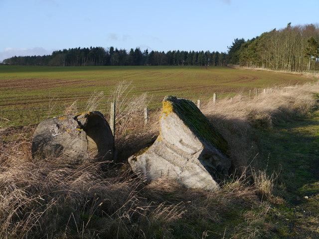 RAF Charterhall - Assorted Debris