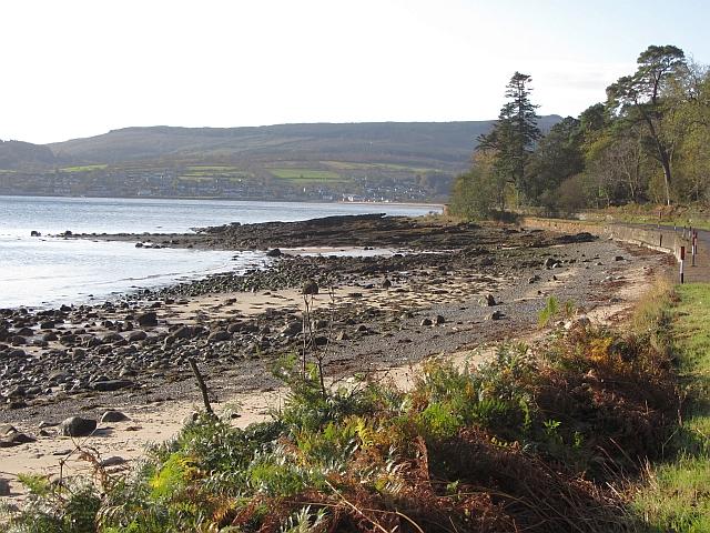 Beach near Brodick Castle