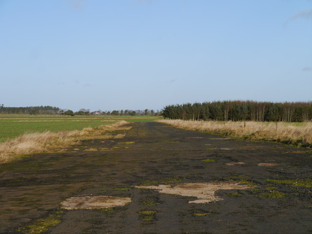RAF Charterhall - Southern Section Of Airfield