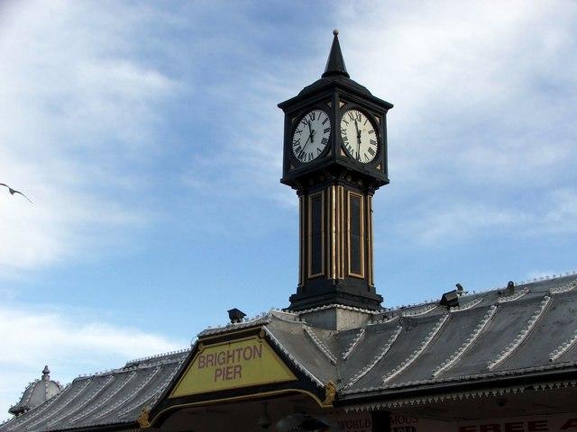 Clock Tower, Brighton Pier