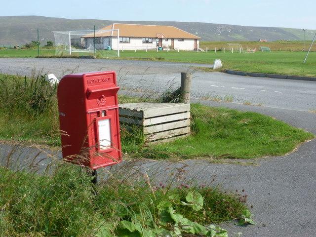 Haggersta: postbox № ZE2 72