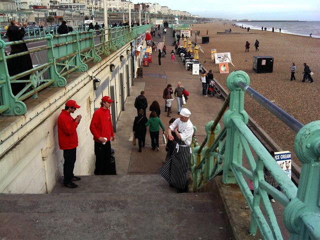 Break Time - Brighton Beach