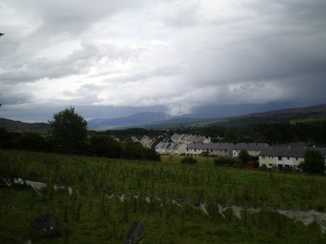 The Spey Valley at Newtonmore