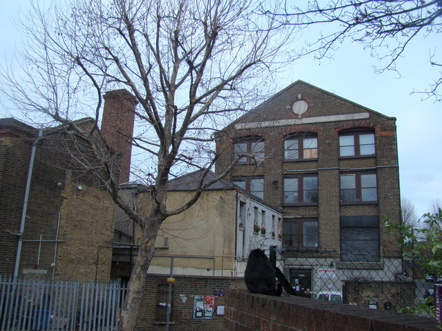 Former warehouses on Dace Road