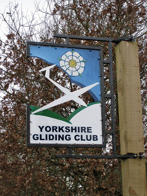 Yorkshire Gliding Club sign