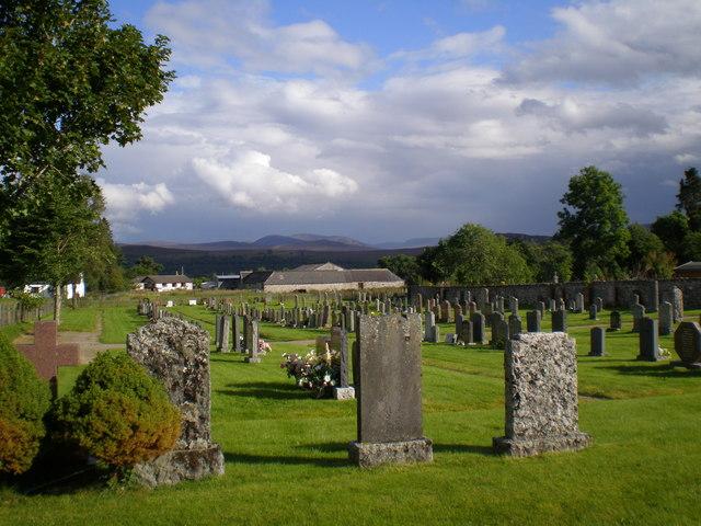 Banchor cemetery, Newtonmore
