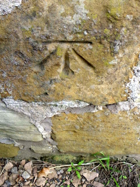 Bench Mark, Kenlygreen Cottages