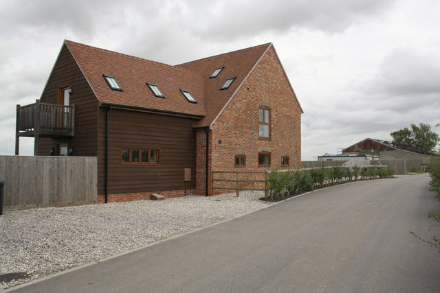 Barn conversion at Bradfield Grove Farm