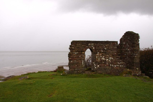 The ruins of St Patrick's Chapel