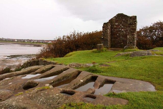 Rock-hewn graves by St Patrick's Chapel