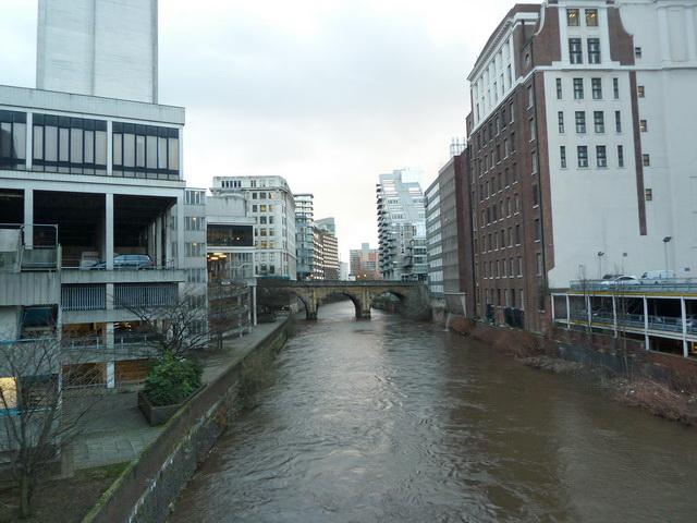 River Irwell, Manchester