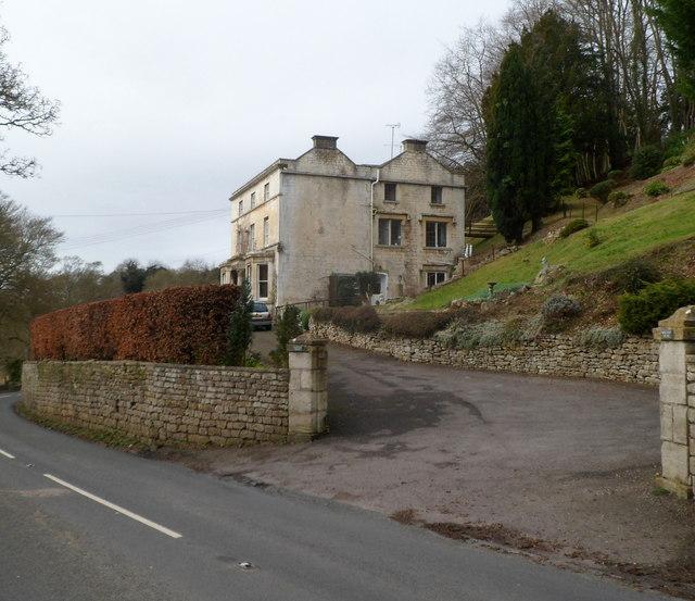 Grade II listed Woodside House, Slad