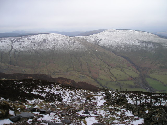 Descending Mynydd Moel