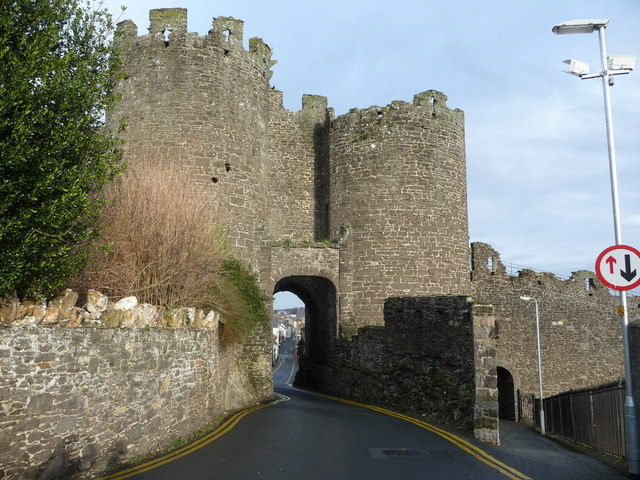 One of the town gates, Conwy