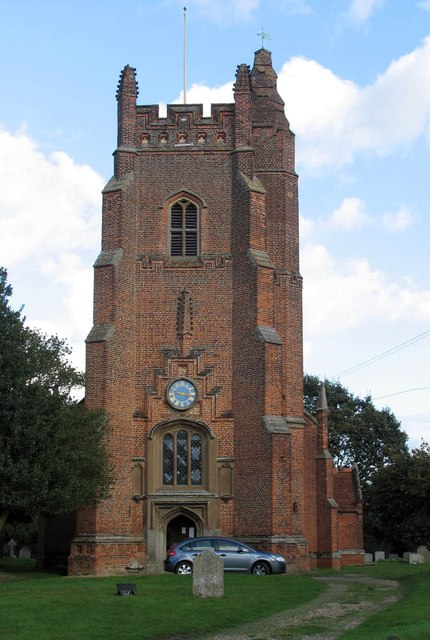 All Saints, Rayne - Tower