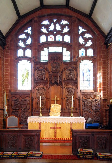 All Saints, Rayne - Chancel
