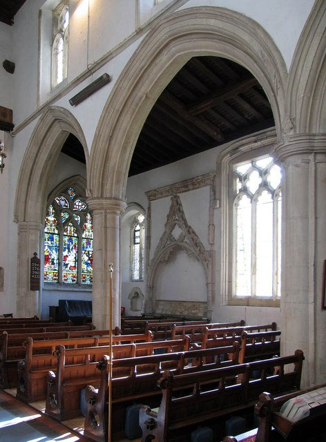 St Andrew, Shalford - South arcade