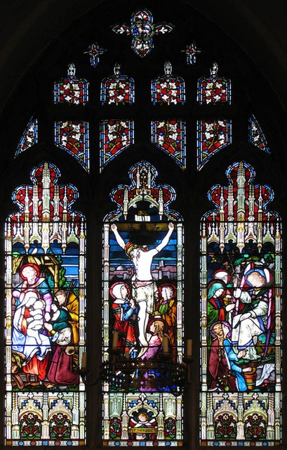 St James the Great, Great Saling - Stained glass window