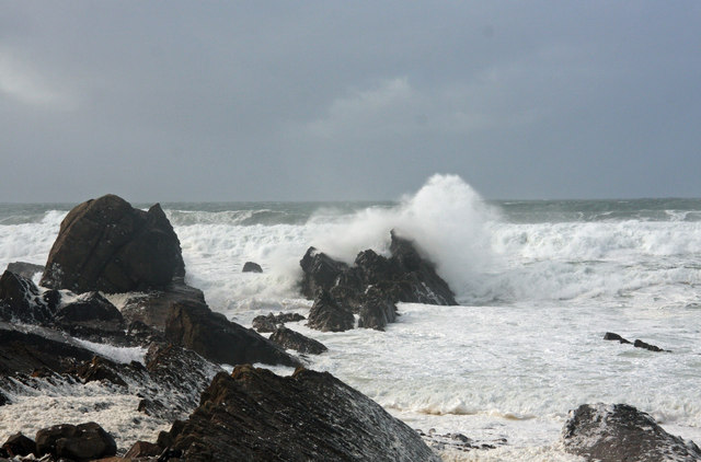 Breaking waves at Compass Point