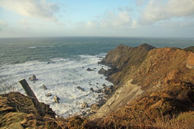 Coast towards Higher Sharpnose Point