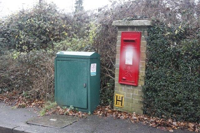 Postbox on Westbury Lane