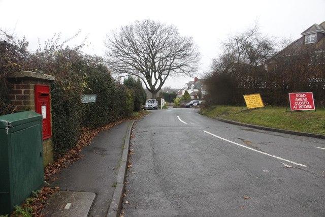 Signs on Westbury Lane