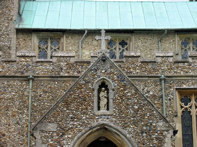 St Mary the Virgin, Great Bardfield - Porch detail