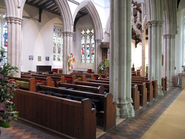 St Mary the Virgin, Great Bardfield - Interior