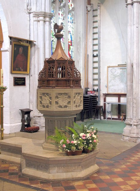 St Mary the Virgin, Great Bardfield - Font