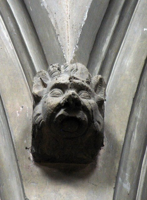 St Mary the Virgin, Great Bardfield - Corbel
