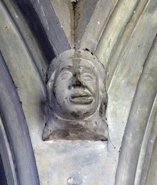 St Mary the Virgin, Great Bardfield - Corbel