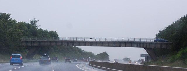 Greystoke Road overbridge, M6
