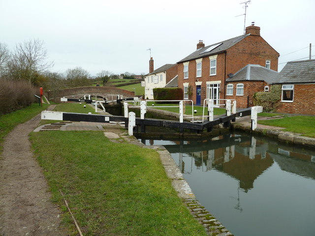 Lock 3, Grand Junction Canal - Braunston Lock
