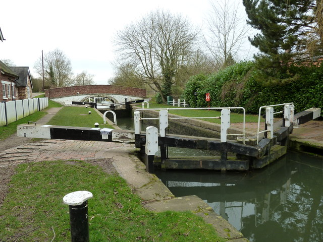 Lock 6, Grand Junction Canal - Braunston Top Lock