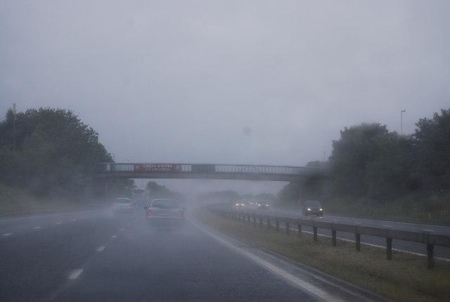 Southwaite Services Bridge, M6