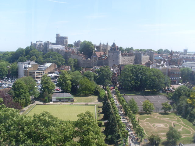 View towards Windsor Castle (1)