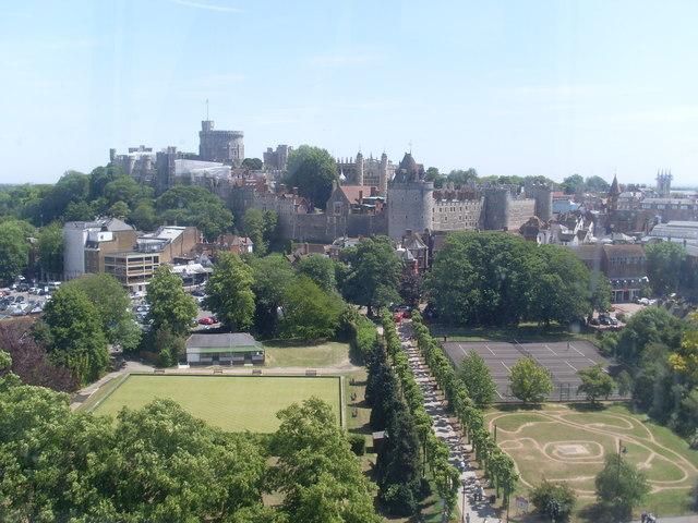 View towards Windsor Castle (1)
