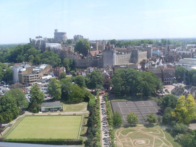 View towards Windsor Castle (2)