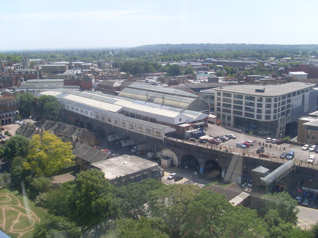 View towards Windsor Central Station