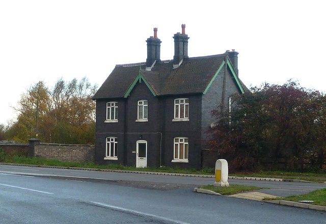 House built of Engineering Bricks