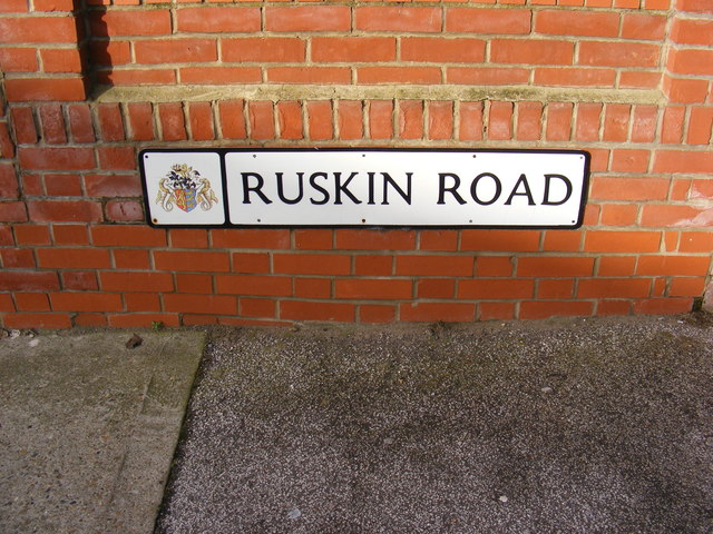 Ruskin Road sign