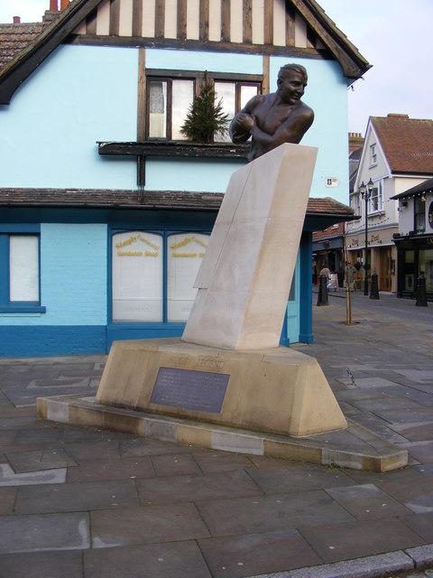 Obolensky's Monument, St.Nicholas Street, Ipswich