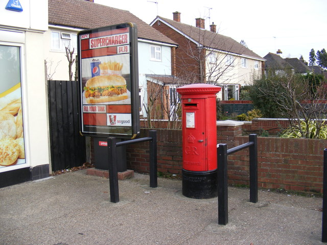Post Office 29 Woodbridge Road East George V Postbox