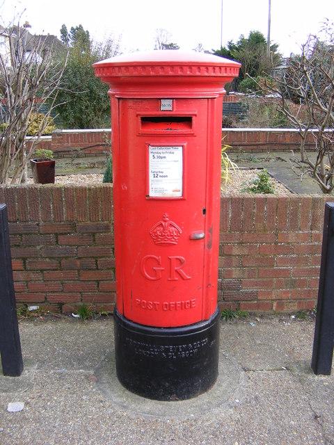 Post Office 29 Woodbridge Road East George V Postbox
