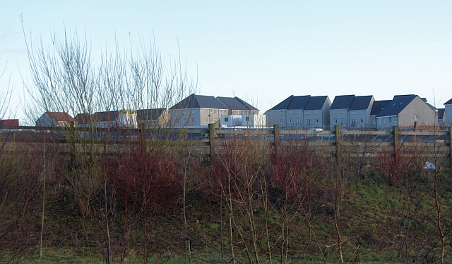 New houses, Ravenscraig site