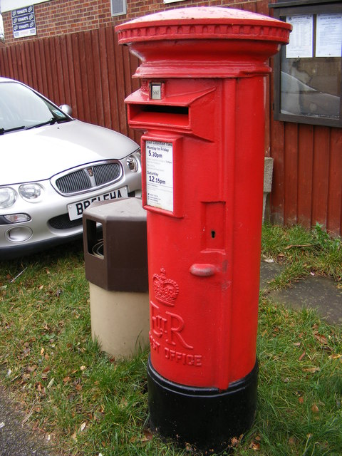 748 Foxhall Road Postbox