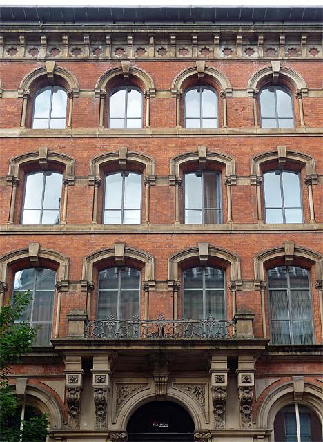 Detail of 109 Princess Street, Manchester