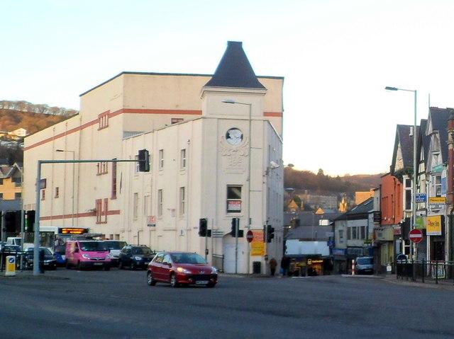 Corner of High Street and Sardis Road, Pontypridd