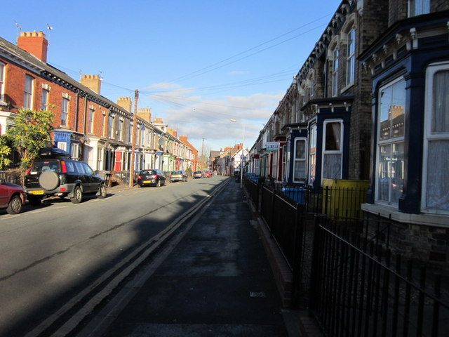Hutt Street off Spring Bank, Hull