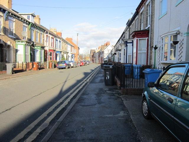 Hutt Street off Spring Bank, Hull